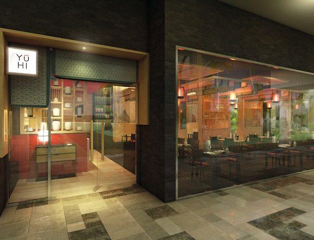 Restaurante Japonés ubicado en el hotel Riu Palace Maldivas