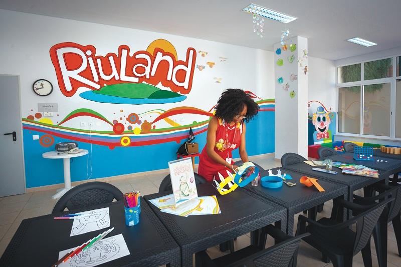RiuLand es el espacio creado exclusivamente para los más peques de la casa