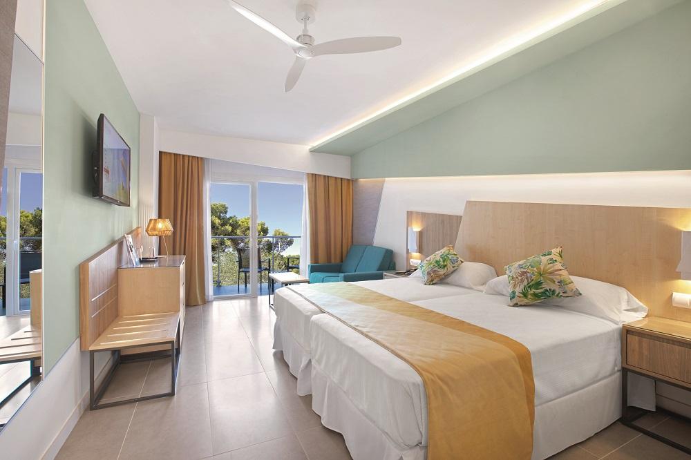 Das sind die neuen Zimmer des Hotels Riu Playa Park
