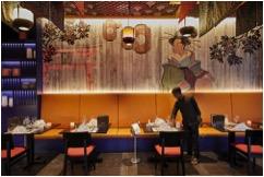Das asiatische Restaurant befindet sich im Hotel Riu Palace Maldivas