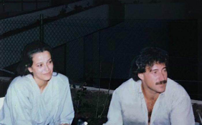 Luis Riu con su esposa en el Riu Palmeras