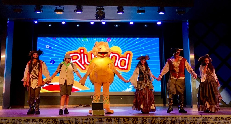 Your children will have a great time at the new Riuland Pirate Party