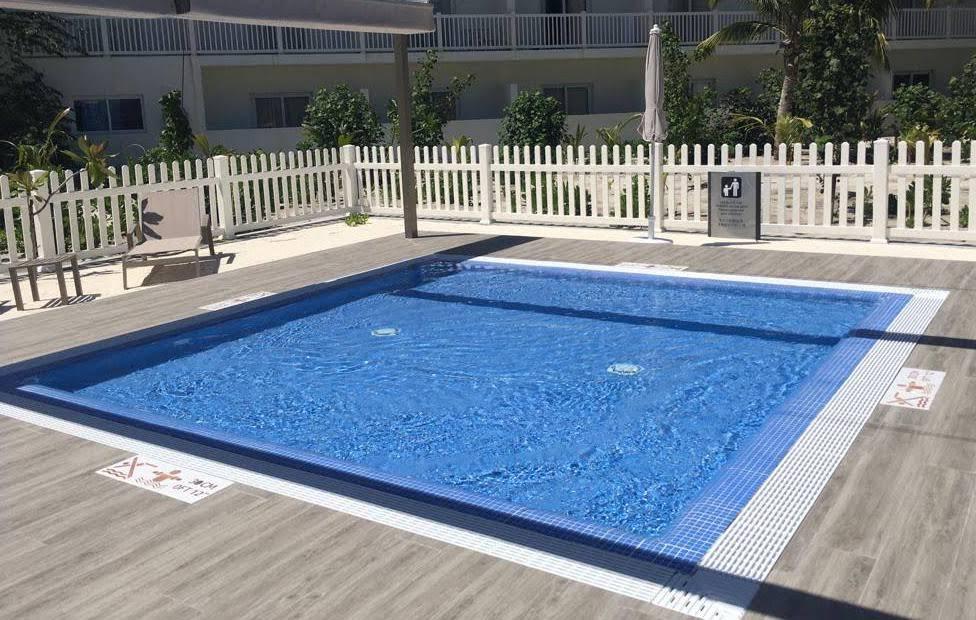 Los más peques de la casa podrán disfrutar de una piscina especial para ellos