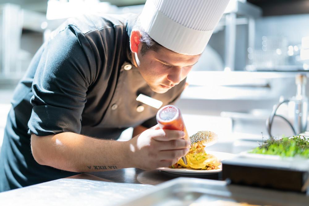 Our RIU chefs prepare exquisite dishes at the Kulinarium restaurant
