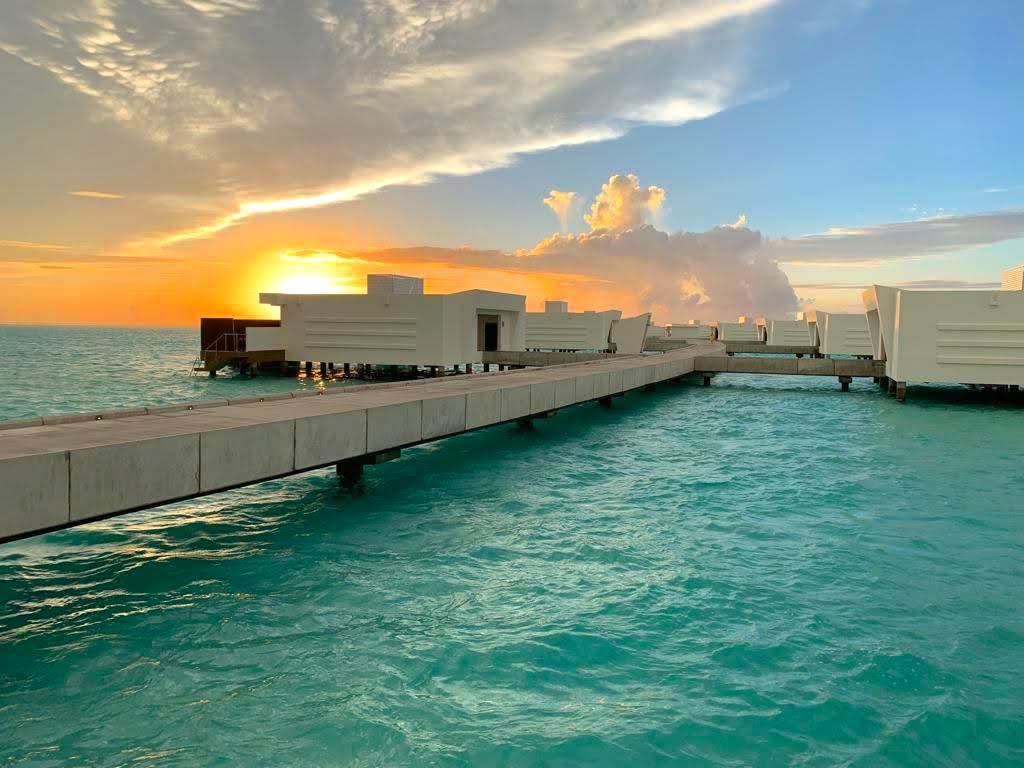 Uno de los privilegios de los hoteles RIU en Maldivas son las puestas de sol