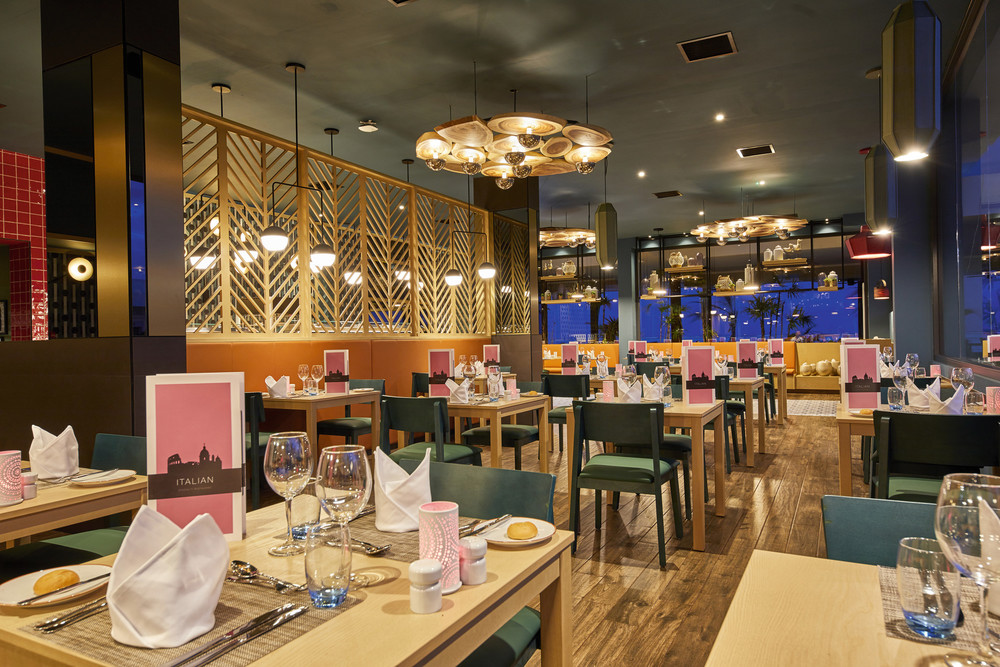 Enjoy the culinary delights of the RIU Italian Restaurant in the Maldives
