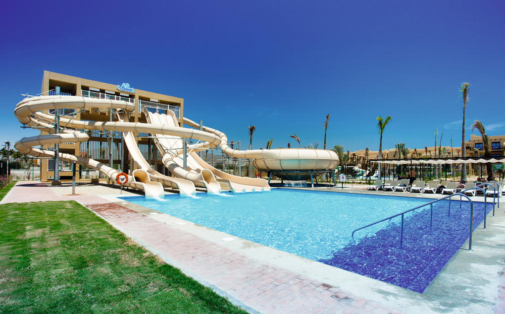 At Los Cabos you can enjoy RIU's Splash Water World
