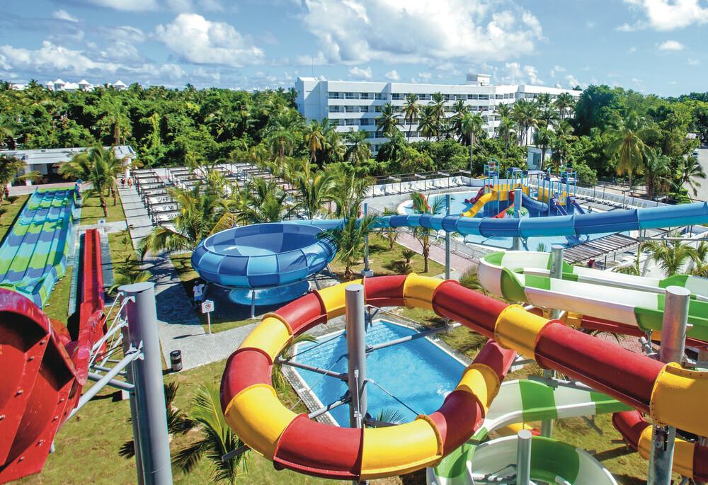 RIU te ofrece un Splash Water World en Punta Cana