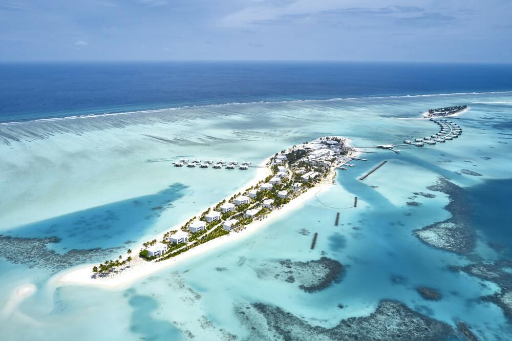 Los dos hoteles de RIU en Maldivas se encuentran unidos por una pasarela
