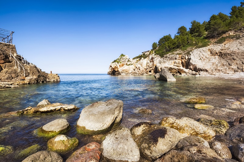 Deià ist die perfekte Bucht zum Tauchen