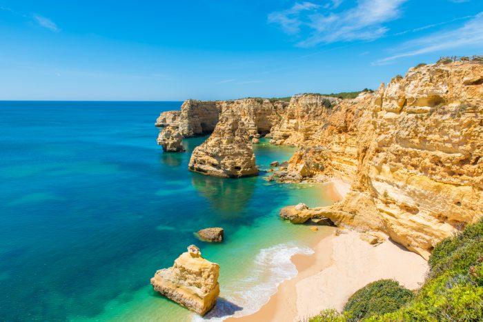 El Algarve, una zona de Portugal en el que está presente la mezcla de mar y montaña