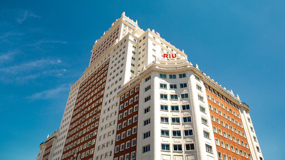 Hotel Riu Plaza España, uno de los últimos proyectos de Luis Riu