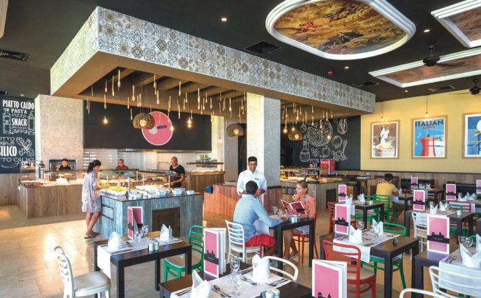 Genießen Sie die leckeren Gerichte des italienischen Restaurants im Riu Sri Lanka
