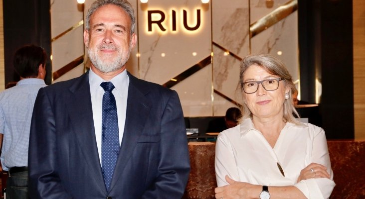 Carmen and Luis Riu Forman are the third generation to manage the chain