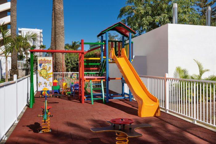 Los más peques podrán disfrutar de un parque infantil