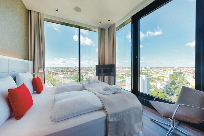 Disfruta de las impresionantes plazas del hotel Riu Plaza Berlin