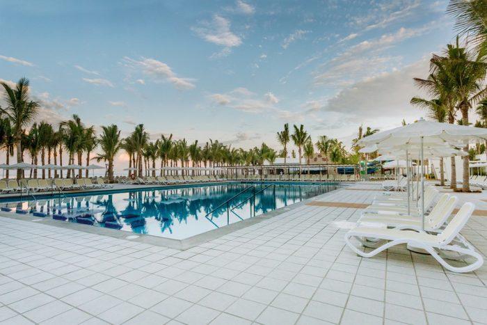 Nach der Hotelerweiterung gibt es insgesamt fünf Swimmingpools.