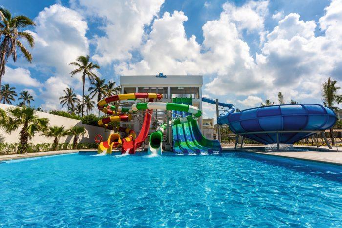 Alle Hotelgäste haben Zugang zum Splash Water World.