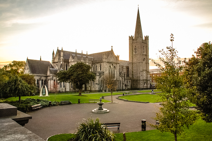St Patrick's Cathedral is the largest church in Dublin