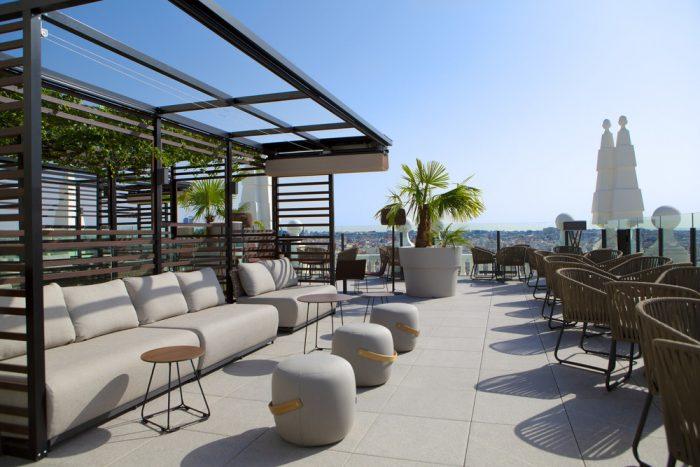 Sube a conocer la terraza con vistas de 360º a Madrid