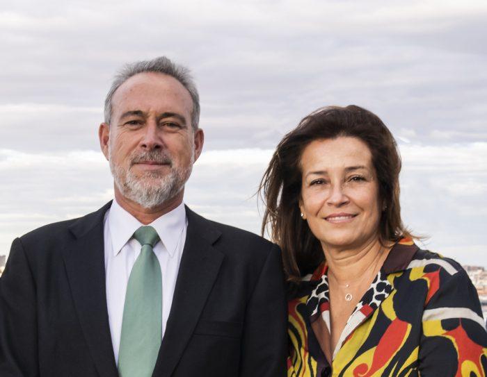 Luis Riu, CEO der RIU Hotels & Resorts, zusammen mit seiner Frau, Isabel