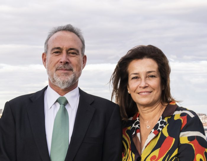 Luis Riu, CEO of RIU Hotels & Resorts, with his wife Isabel