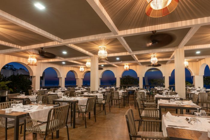 At the Riu Palace Zanzibar hotel guests can diner out at its four restaurants