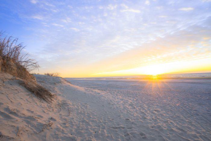 Una playa tranquila, el lugar ideal para descansar según Luis Riu