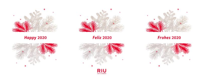 RIU Hotels & Resorts wishes you a happy 2020