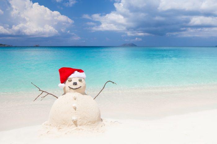 Haz tu muñeco de arena con RIU para Navidad