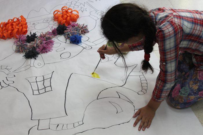 """Das Projekt """"Aquí también"""" wird seit letztem Jahr in Madrid umgesetzt"""