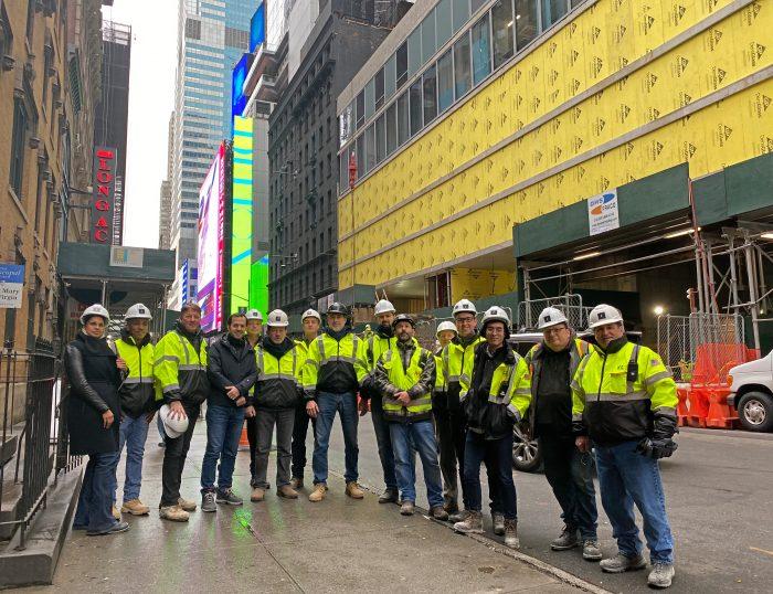 El proyecto del hotel Riu Plaza Nueva York avanza hacia su apertura en 2021