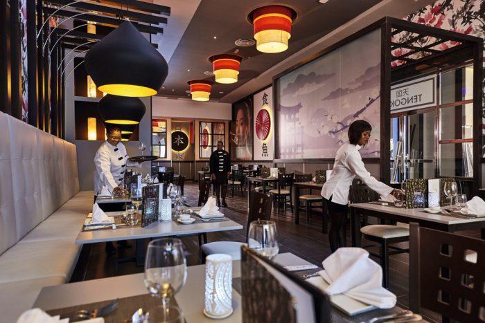 Prueba las delicias del restaurante japonés del hotel Riu Paradise Island en Bahamas