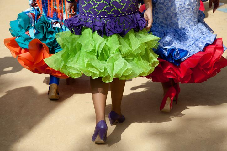 """Der Karneval von Cádiz ist für seine humoristischen Gesangsgruppen """"Chirigotas"""" berühmt"""