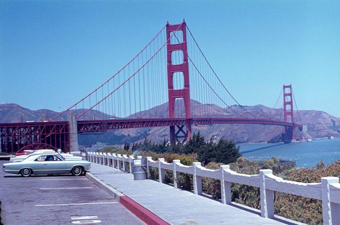 Die Golden Gate Brücke von San Francisco