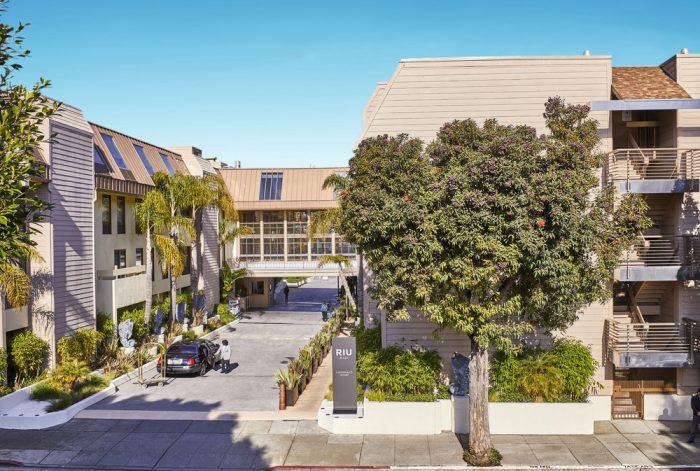 Der Außenbereich des Riu Plaza Fisherman's Wharf Hotels war Liebe auf den ersten Blick für Luis Riu