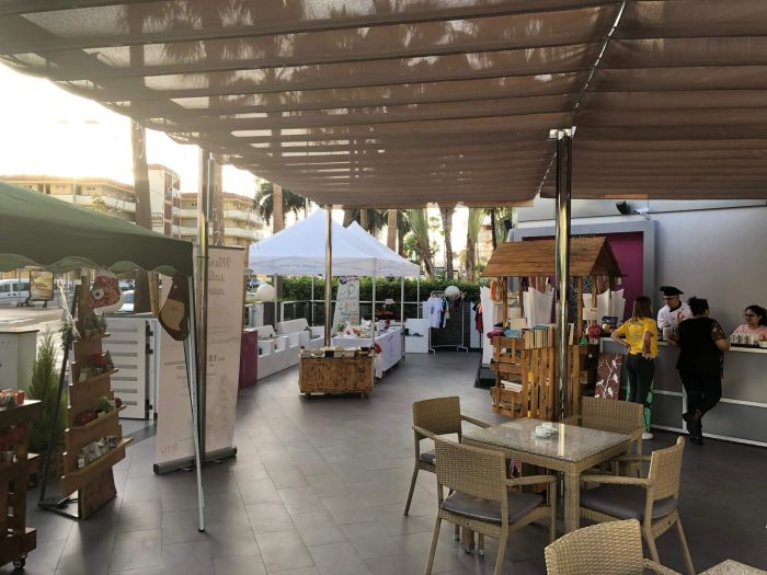 Every year the Riu Don Miguel organizes a charity market with the Pequeño Valiente foundation