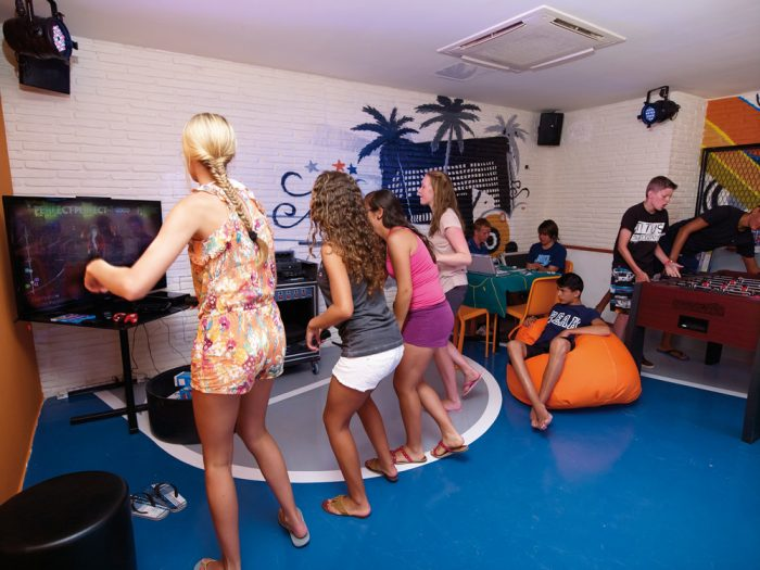 The Riu Gran Canaria has a space designed for teenagers