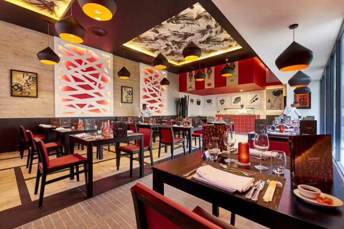 Try the delights at the Japanese restaurant in the Riu Palace Punta Cana hotel