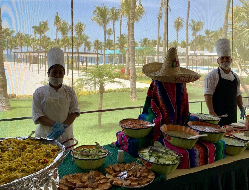 Die RIU-Hotels in Mexiko spenden wegen der Coronavirus-Krise verderbliche Lebensmittel an Mitarbeiter und Hilfsorganisationen