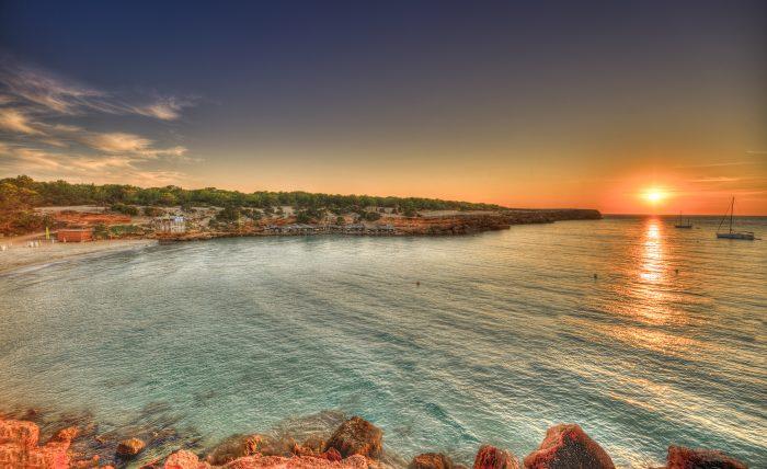 La isla de Formentera cuenta con paradisíacas playas y calas