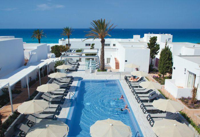 El hotel cuenta con unas vistas impresionantes del mediterráneo