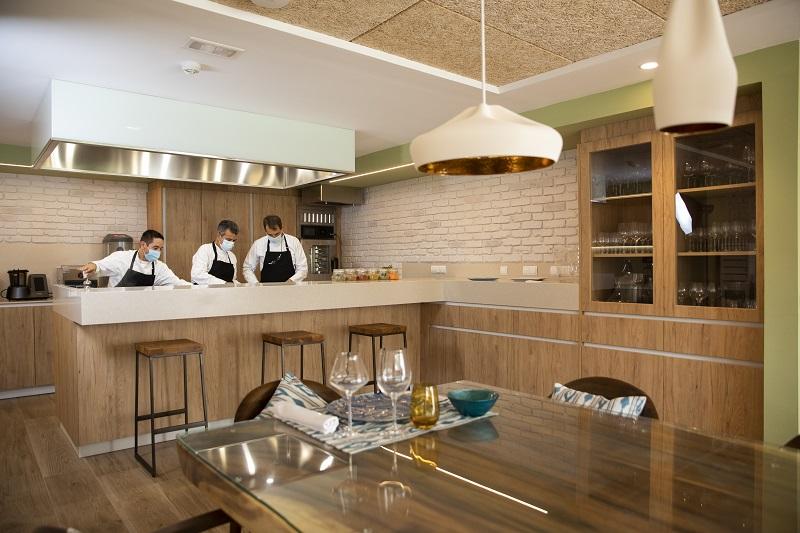 Neuer Raum in der Küche der RIU Hotels