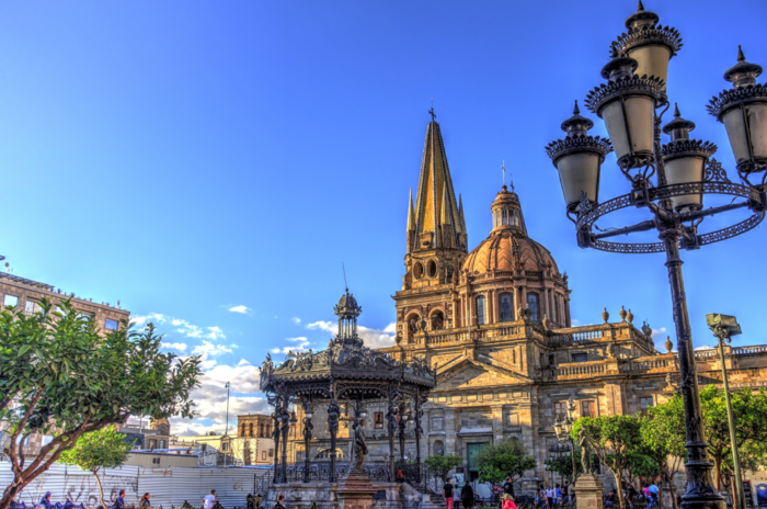 The streets of Guadalajara strike a perfect balance between the traditional and the modern