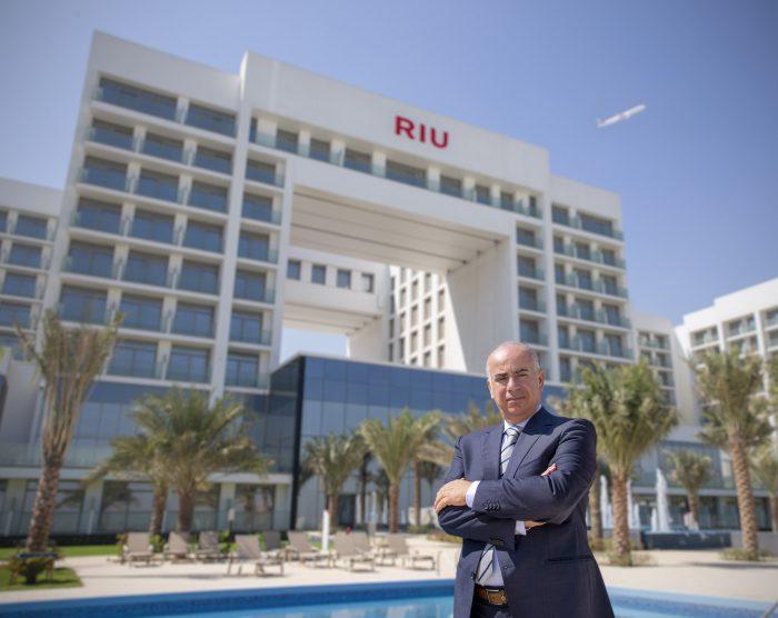 Nader Ghosheh, manager of Hotel Riu Dubai.