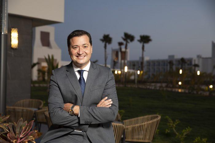 Yeray Zurita, Hoteldirektor des neuen Riu Palace Santa