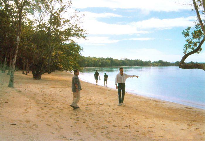 Luis Riu, en su visita a la zona de Negril, en Jamaica, en 2003