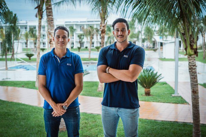 Luis y Roberto Riu Rodríguez, hijos del CEO de RIU Hotels & Resorts, Luis Riu Güell