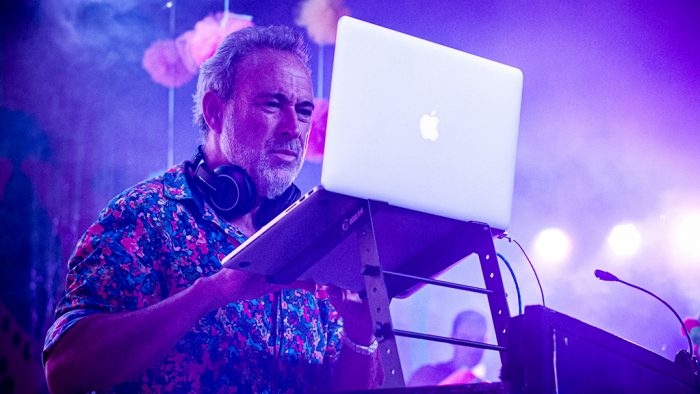 Luis Riu has a list of 5,500 classified songs that he plays during his DJ sets.
