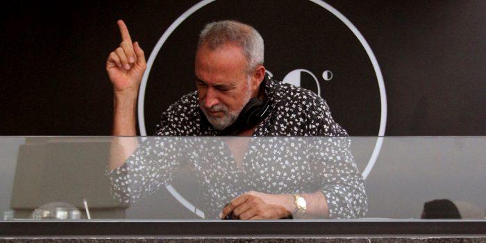 Luis Riu disfruta de su pasión por la música en sus sesiones de DJ; aquí, en el Riu Plaza España